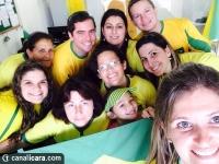 Içarenses entram no clima da Copa do Mundo