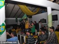 Goleada em Camarões empolga brasileiros