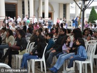Feriado de fé, gastronomia e diversão