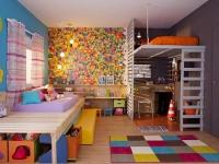 Dormitórios infantis de lazer e aprendizado