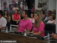 Câmara Municipal retribui luta contra câncer