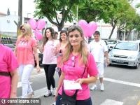 Mulheres e meninas fazem nova caminhada