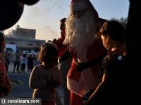 Papai Noel recebe a chave de Içara