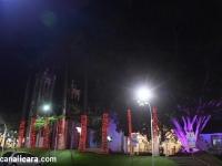 Doce Natal é aberto em Içara com inauguração da iluminação