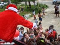 Natal Diferente é concluido com entrega de mil brinquedos