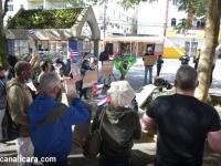 Manifestação por liberdade em Cuba reúne mais de 40 pessoas em Içara
