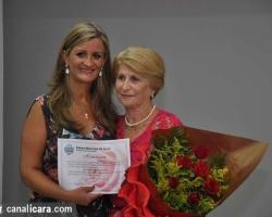 Sessão especial homenageia mulheres