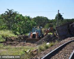 Tráfego de trem é restabelecido em Içara