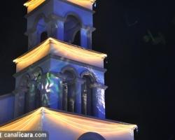 Praça da Matriz completa iluminação