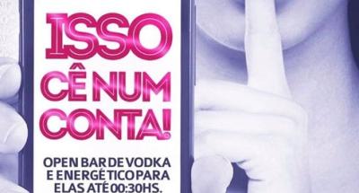 Villaras ter� energ�tico e vodka para elas
