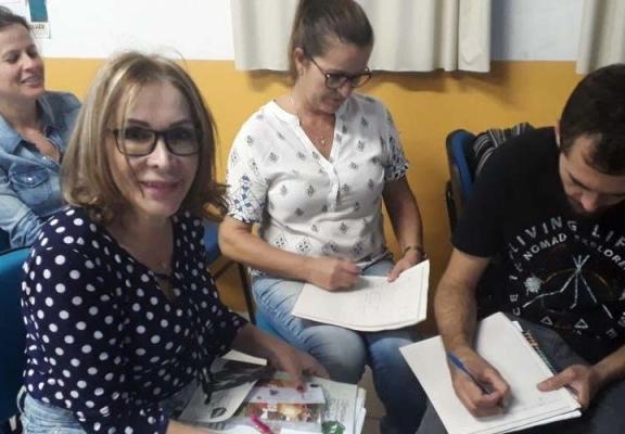 Professores são capacitados para Olimpíada de Saúde e Meio Ambiente