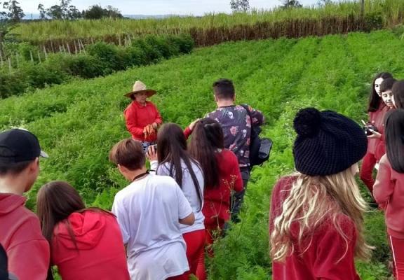 Estudantes retratam a vida no campo para exposição Janelas da Alma