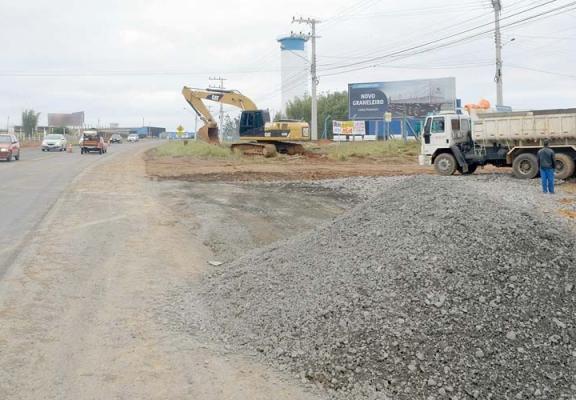 SC-445: Construção de rótula em Vila São José é iniciada
