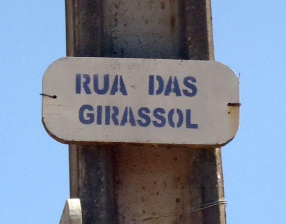 Rua das Girassol