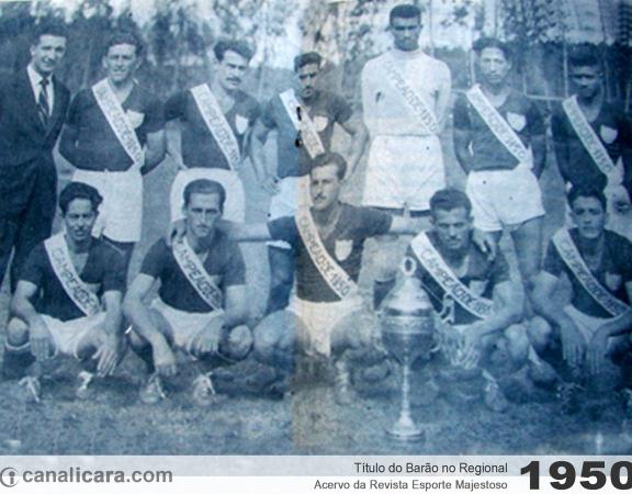 1950: Título do Barão no Regional