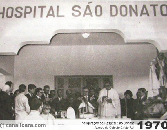 1970: Inauguração do Hospital São Donato