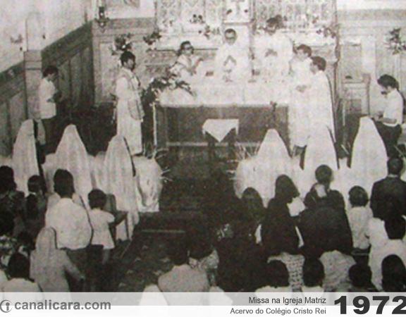 1972: Missa na Igreja Matriz