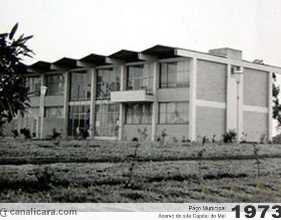 1973: Paço Municipal de Içara