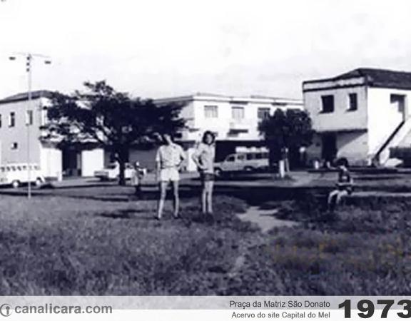 1973: Praça da Matriz São Donato