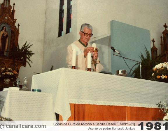 1981: Bodas de Ouro de Antônio e Cecília Daltoé