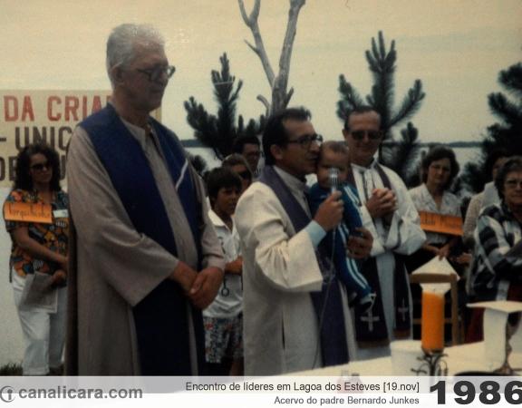 1986: Encontro de líderes em Lagoa dos Esteves